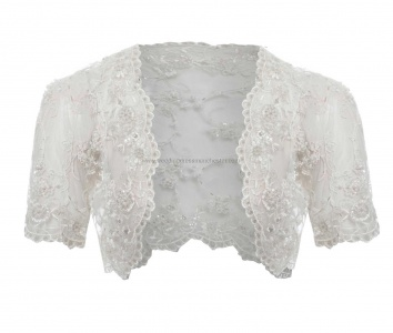 Covered Lace Bolero Jacket